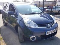 NISSAN NOTE 1.6 ACENTA 5d AUTO 110 BHP Apply for finance Online today! (blue) 2013