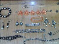 assortment of mixed jewellery