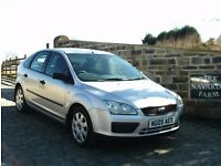 Ford Focus LX In Silver, 2005 05 reg, Service History, Last Owner From 2008, MOT March 2018