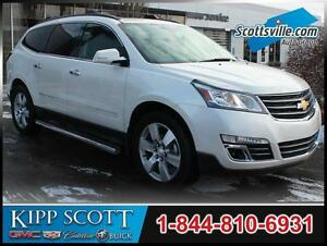 2015 Chevrolet Traverse LTZ, Leather, Nav, Sunroof, 1 Owner