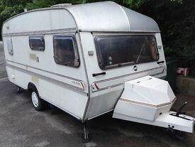 old caravan wanted free,