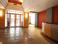 Fully furnished 2 bedroom loft,, Downtown Montreal-available now