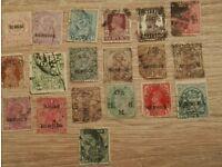 Inverted watermark stamps all original