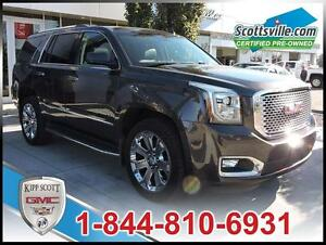 2016 GMC Yukon Denali, 1 Owner, Leather, Nav, Sunroof, HUD