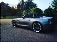 BMW Z4 Auto ROADSTER (grey) 2004 **FULL YEARS MOT**