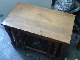 NEST OF TABLES WOODEN 07985733189 15.00