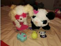 Remote control dog and fur real friends panda
