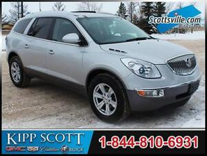 2010 Buick Enclave CXL-2 AWD, Leather, Nav, Sunroof, DVD