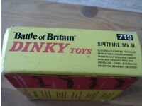 dinky 719/724 sea king/spitfire boxed vgc