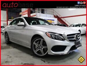 2015 Mercedes-Benz C-Class C300 4MATIC PREMIUM | SPORT | LOW KMS