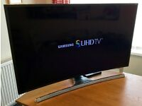 "48"" SAMSUNG UE48JS8500 - SUHD -Nano Crystal- 3D Curved LED TV -1900hz- Freeview/Sat HD"
