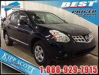 2013 NISSAN ROGUE S; AWD, LOW KM, PWR OPTIONS & MORE! GREAT BUY!