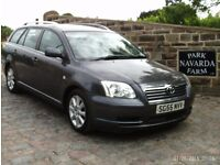 Toyota Avensis D-4D T3 S Diesel Estate In Grey, 2005 55reg With 14 Service History Stamps.