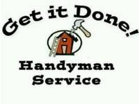 Handyman. Builder. Fencing. Plastering. Property maintenance.