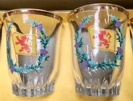 Boxed set shot glasses. CHRISTCHURCH