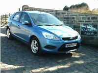 Ford Focus Style 100 In Blue, 2010 10 reg, Full Service History, One Former Owner