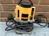 DEWALT ROUTER DW613 power tool + ACCESSORIES IN CARRY CASE