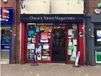 Newsagents - Lottery, Convenience Goods, High Street Business. All serious offers considered!