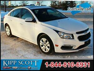 2016 Chevrolet Cruze Limited LT, Sunroof, Pioneer Audio, Cloth
