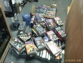 DR WHO VIDEOS MANY HUNDREDS PLUS COLLECTORS TINS 07985733189