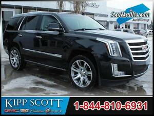 2015 Cadillac Escalade Premium, Leather, Nav, Sunroof, DVD, 22's