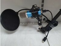 NEEWER NW-7000 USB Microphone with 2 arms stands - 6 Month Warranty