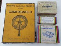 VINTAGE CAMPAGNOLO BOXES - BIKE PARTS COLLECTION