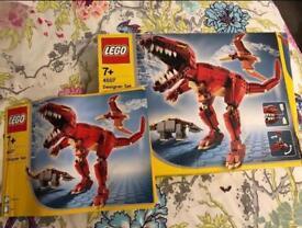 Lego dinosaur designer set - rare/retired