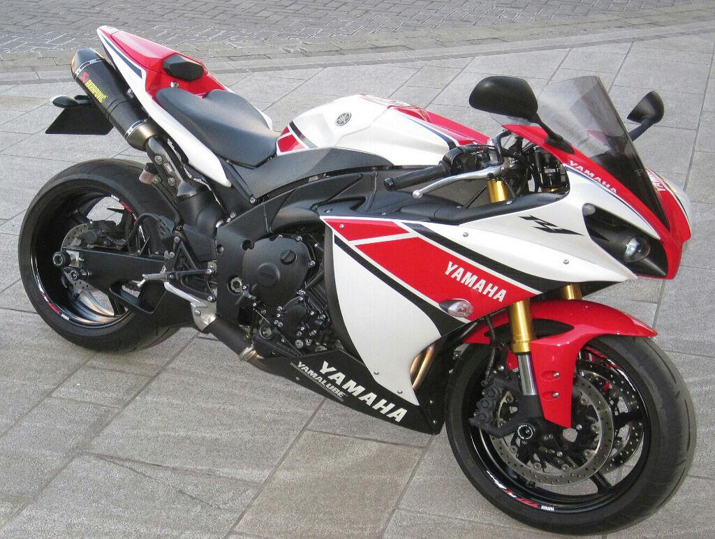 2012 Yamaha R1 World Gp 50th Anniversary Limited Edition