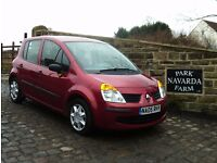Renault Modus Expression DCi 65 In Red, 2005 05 reg, Service History, Last Serviced 29th October