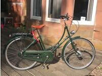 Pashley Princess Sovereign bike, green, 17.5 in frame