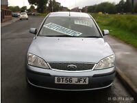 LOW MILEAGE AUTOMATIC 2006 FORD MONDEO FULL MOT £695