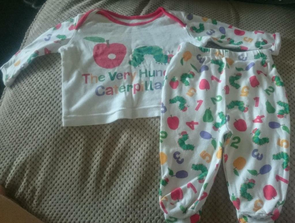 The Hungry Caterpillar Pajamas 0 3 Months In Preston