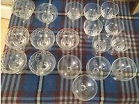 18 glasses