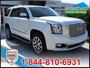 2016 GMC Yukon Denali, Leather, Nav, Heads-Up Display, Sunroof