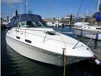 1995 Sea Ray Sun Dancer 230 Sports Cruiser Boat – 4 Birth