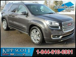 2014 GMC Acadia Denali AWD, Leather, Sunroof, Nav, DVD, Loaded!