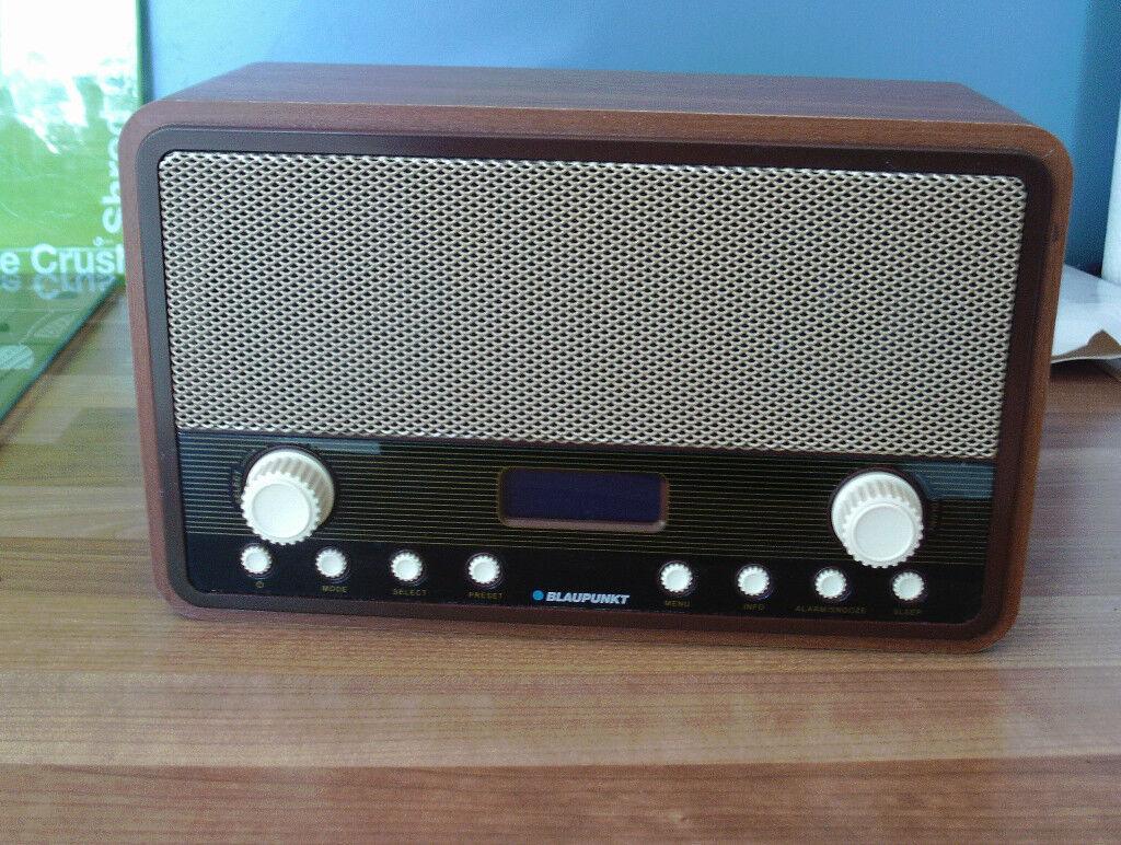 blaupunkt retro dab fm radio alarm clock in norwich. Black Bedroom Furniture Sets. Home Design Ideas