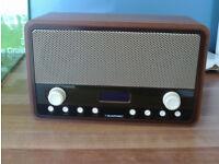 Blaupunkt retro DAB/FM radio alarm clock