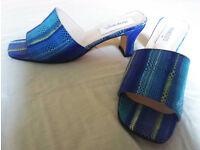 Gorgeous Manolos Elda Spanish sandals