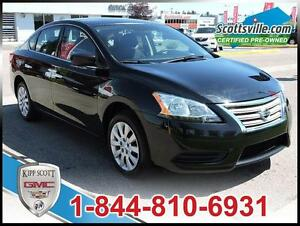 2015 Nissan Sentra S, Cloth, Bluetooth, USB Port, A/C, Cruise