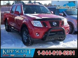 2011 Nissan Frontier PRO-4X Crew, Leather, Nav, Tonneau, Boards