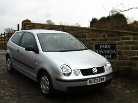 Volkswagen Polo S Automatic In Silver, 2003 53 reg, 1 Former Owner, Last Owner From 2005,Low Miles