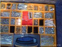 CARRY CASE BOX OF SCREWS