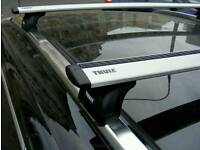 Complete Thule wingbars including the footpack and the fitting kit
