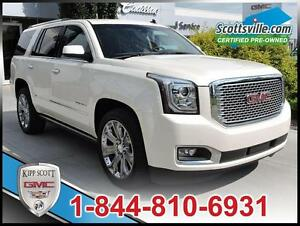 2015 GMC Yukon Denali, Leather, Power Side Steps, Nav, Sunroof