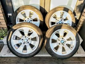 "4 x BMW 158 17"" Alloy Wheels with 225/50 Nokian WR D3 Winter Tyres"
