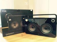 TDK Boombox Music System / Stereo / iPod dock