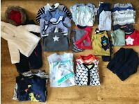 Baby boy clothes bundle 0-6 months