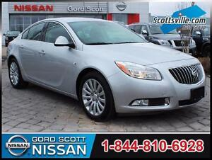 2011 Buick Regal CXL, Heated Leather, Dual Zone A/C, Low KM